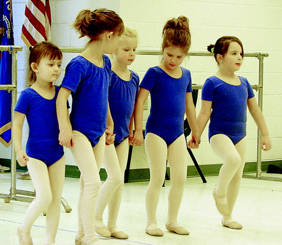 Dancers listen to the instruction of Diane Remy as she details the movements they will be performaing for the April 19 performance at the John Michael Kohler Arts Center. Photo by Gina Kabat/Courtesy of Tri-County News, Kiel, Wis.